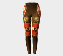 Florence street sign climbing ealanta Leggings- ealanta Art Wear