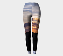Changing Sky's of Tuscany ealanta Leggings- ealanta Art Wear
