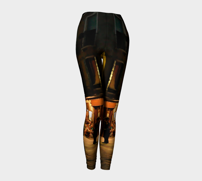 Venice Night Legging 1 ealanta Leggings- ealanta Art Wear