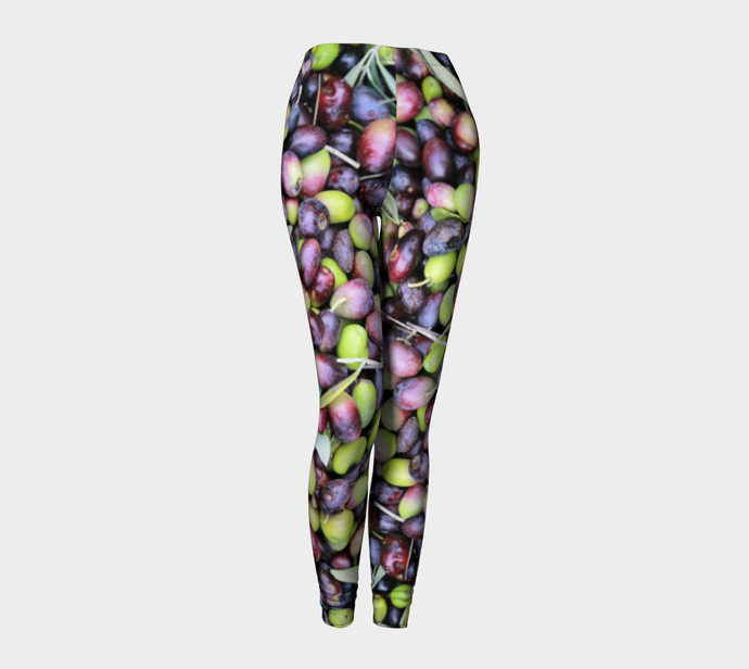 Olive Harvest Leggings ealanta Leggings- ealanta Art Wear