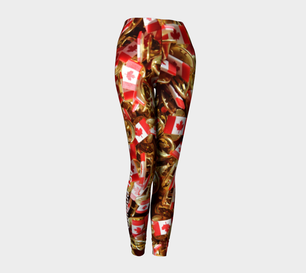 Canada 150  Leggings ealanta art wear Leggings- ealanta Art Wear