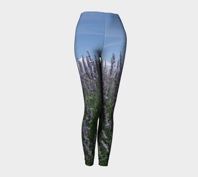 Lavender Leggings ealanta.ca Leggings- ealanta Art Wear