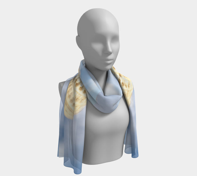 Twisted Tower Long Scarf- ealanta Art Wear