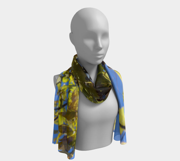 Wine on the Vine ealanta Long Scarf- ealanta Art Wear