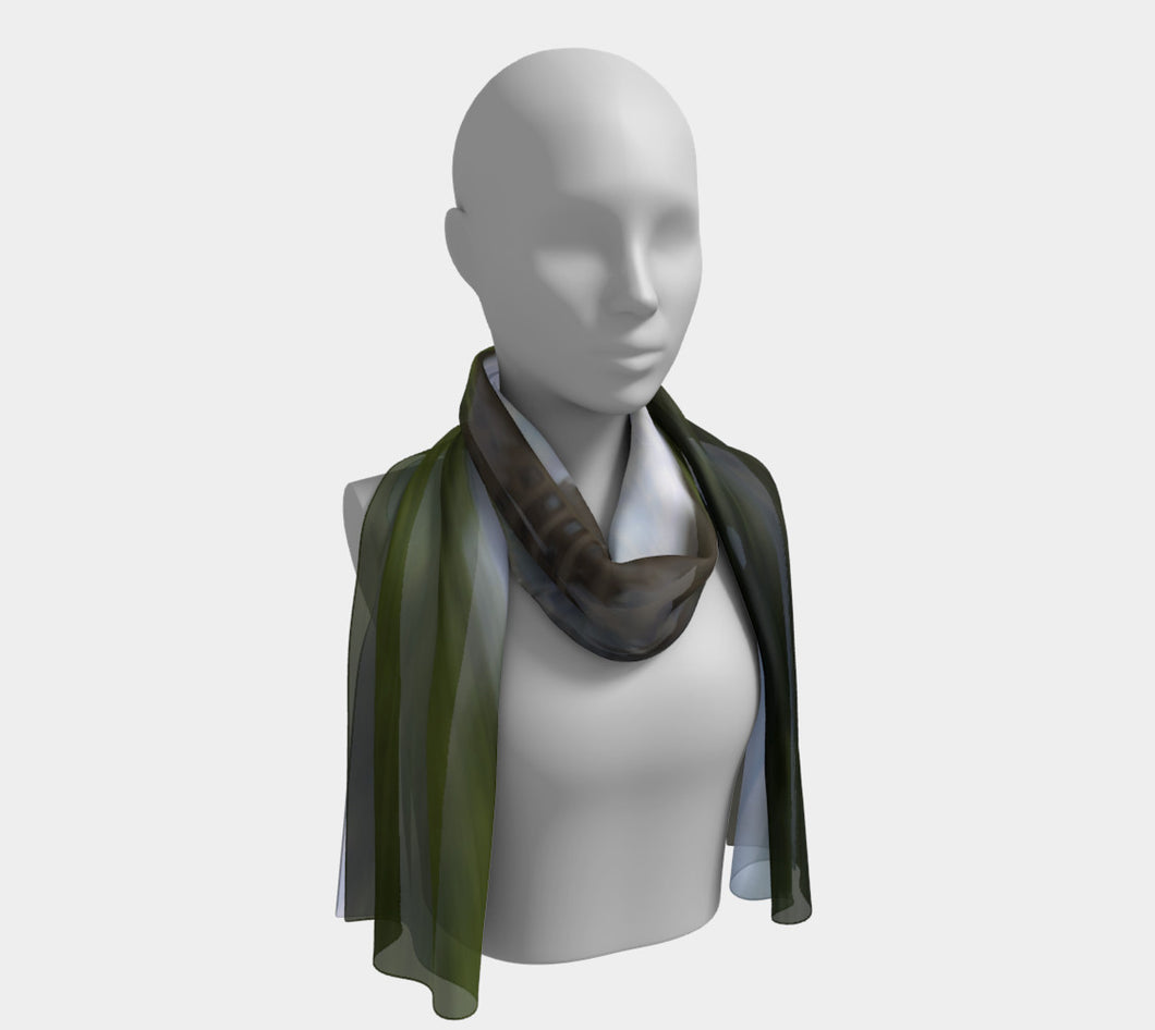 Edmonton Legislature Long Scarf- ealanta Art Wear