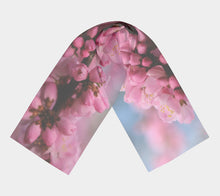 Spring Blossoms Alberta  Scarf Long Scarf- ealanta Art Wear