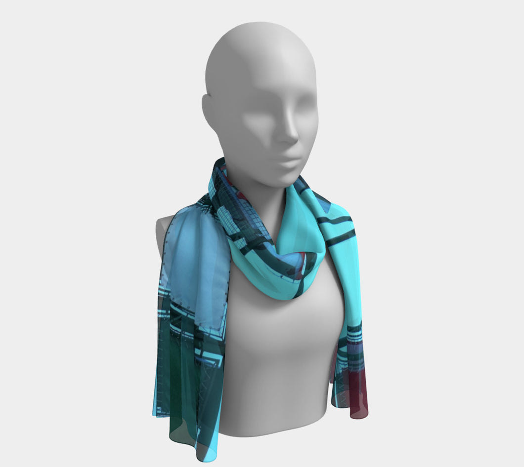 ciao Little Italy Edmonton scarf ealanta Long Scarf- ealanta Art Wear