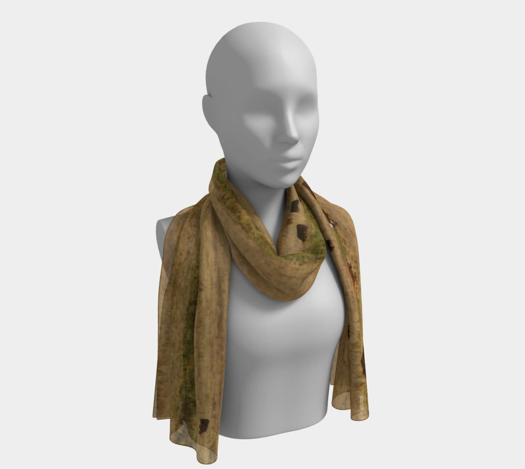 Cattle Ranch Alberta ealanta scarf Long Scarf- ealanta Art Wear