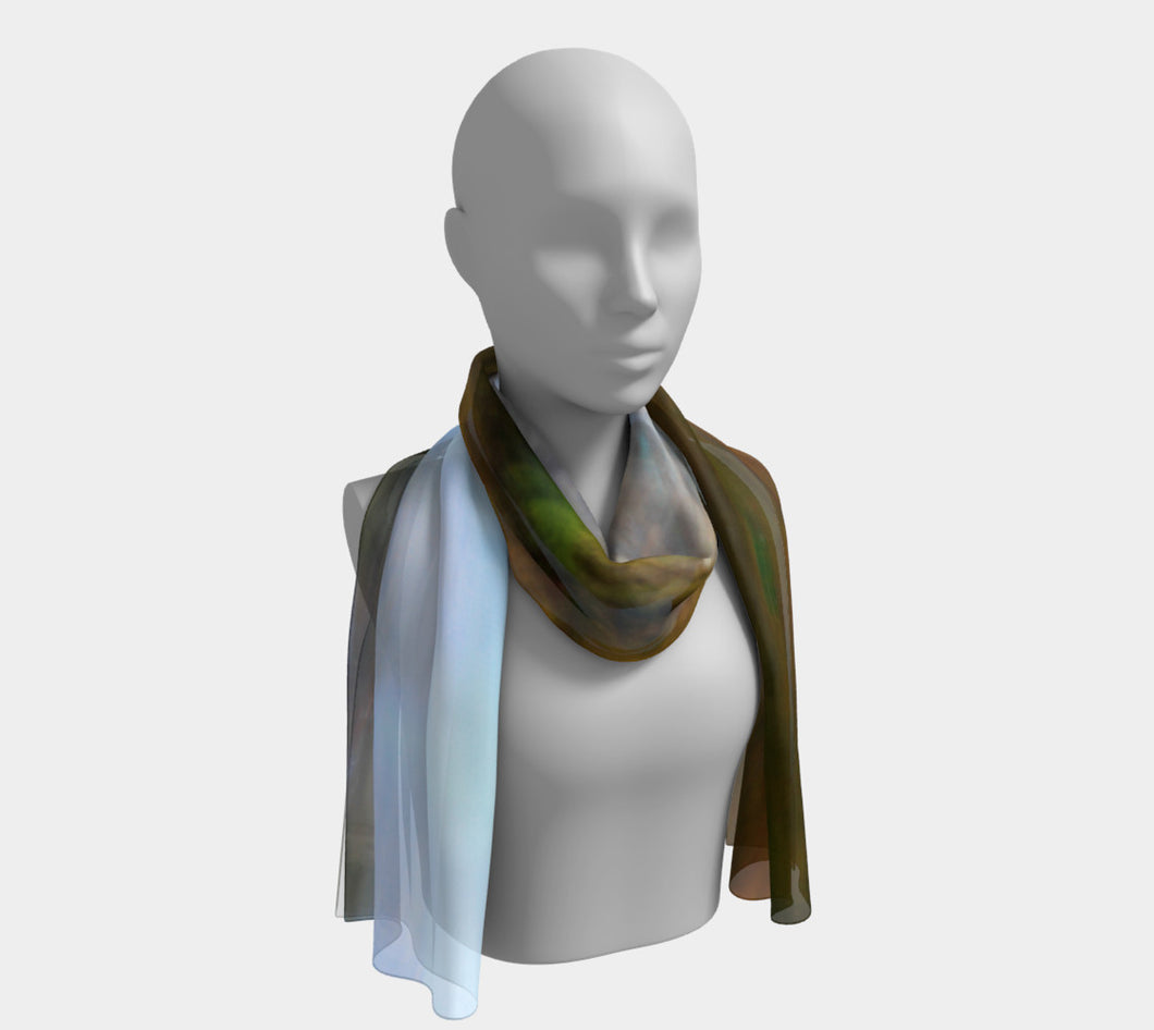 Edmonton Zoom Long Scarf- ealanta Art Wear
