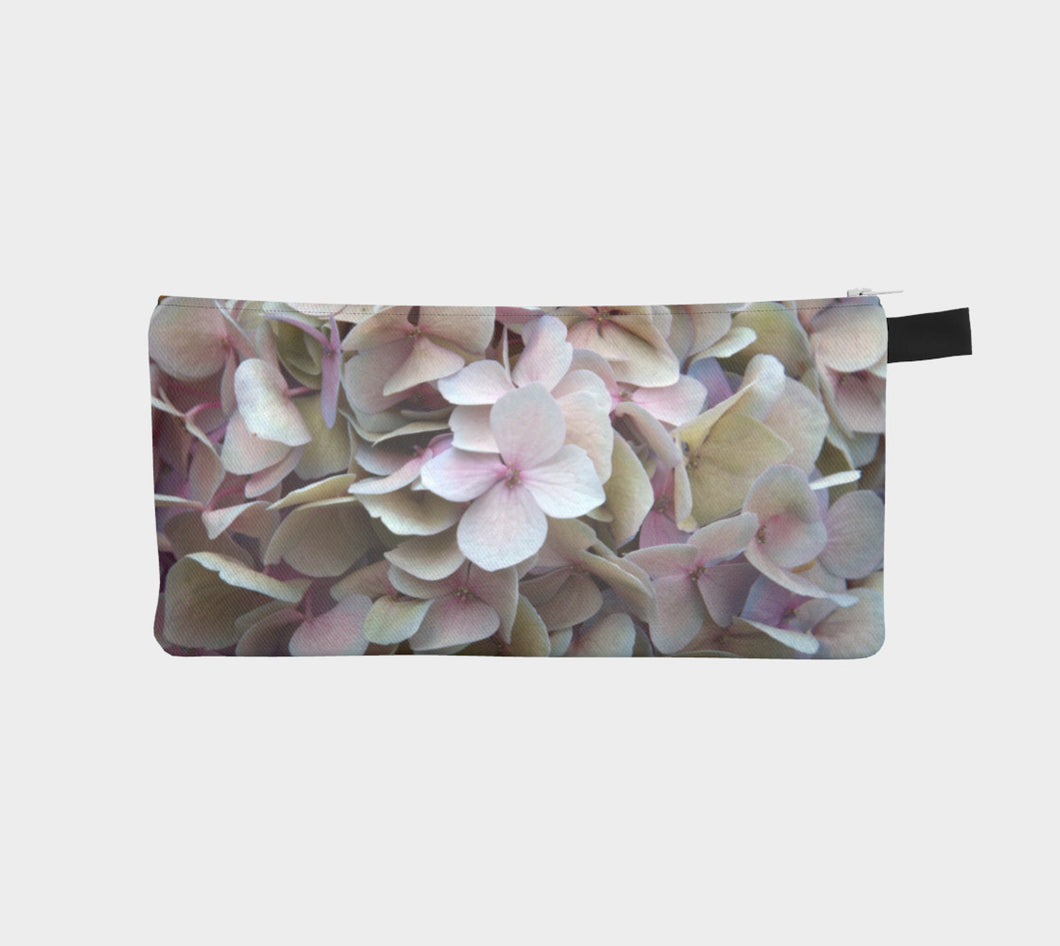 Pink Floral Edmonton Alberta Pencil Case- ealanta Art Wear