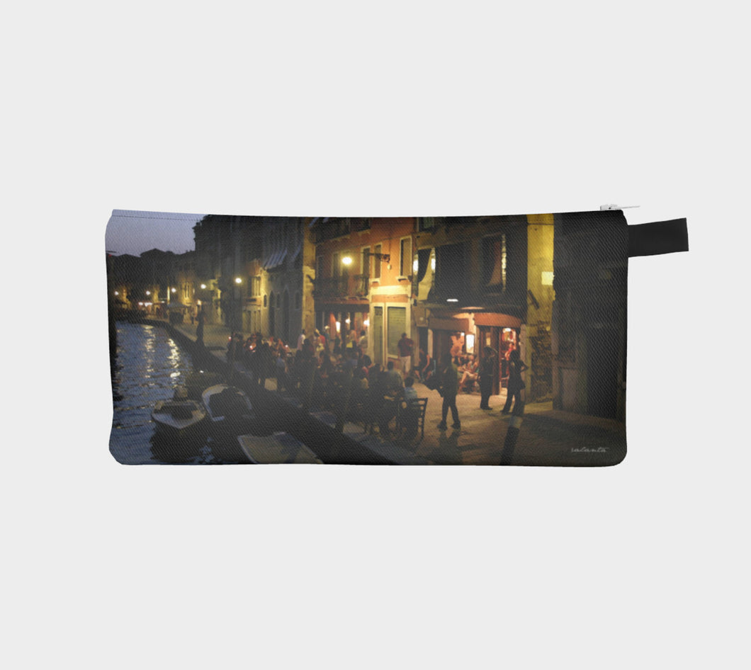 Venice Night case ealanta Pencil Case- ealanta Art Wear