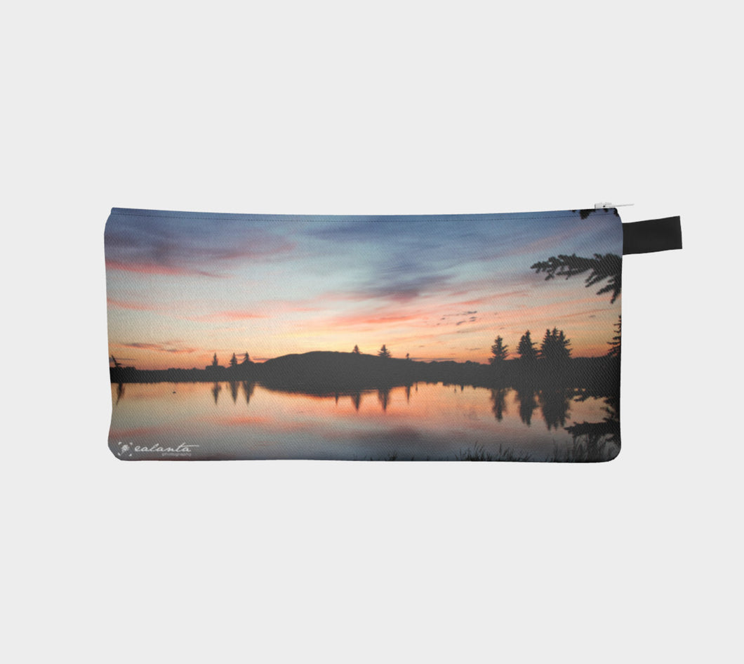 Beaumont Blues Sunset case Pencil Case- ealanta Art Wear