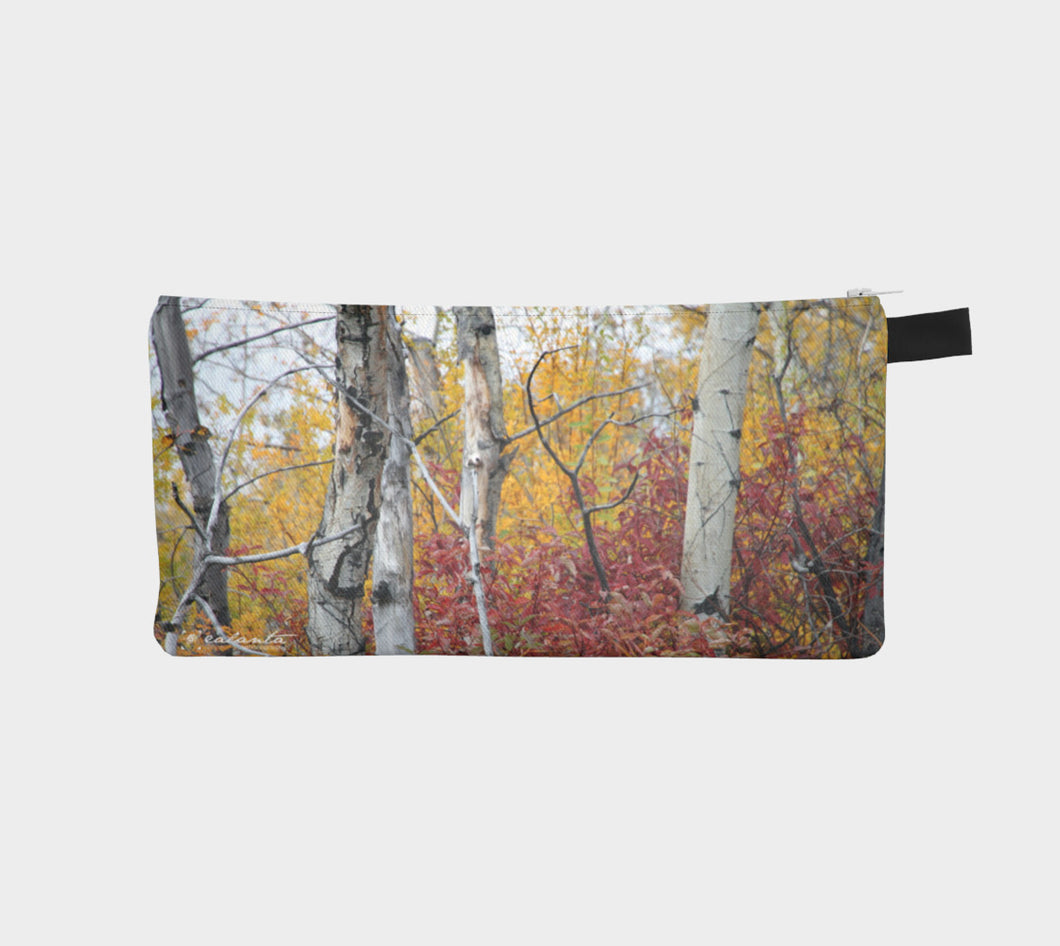 Poplar Fall Alberta case Pencil Case- ealanta Art Wear