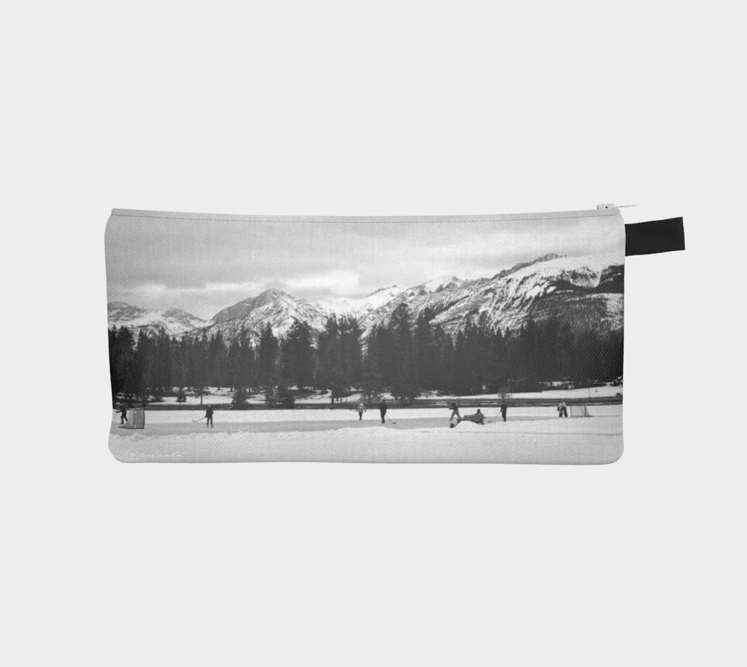 Truly Canadian case Pencil Case- ealanta Art Wear