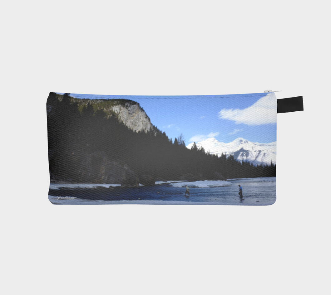 Gone Fishing case Pencil Case- ealanta Art Wear