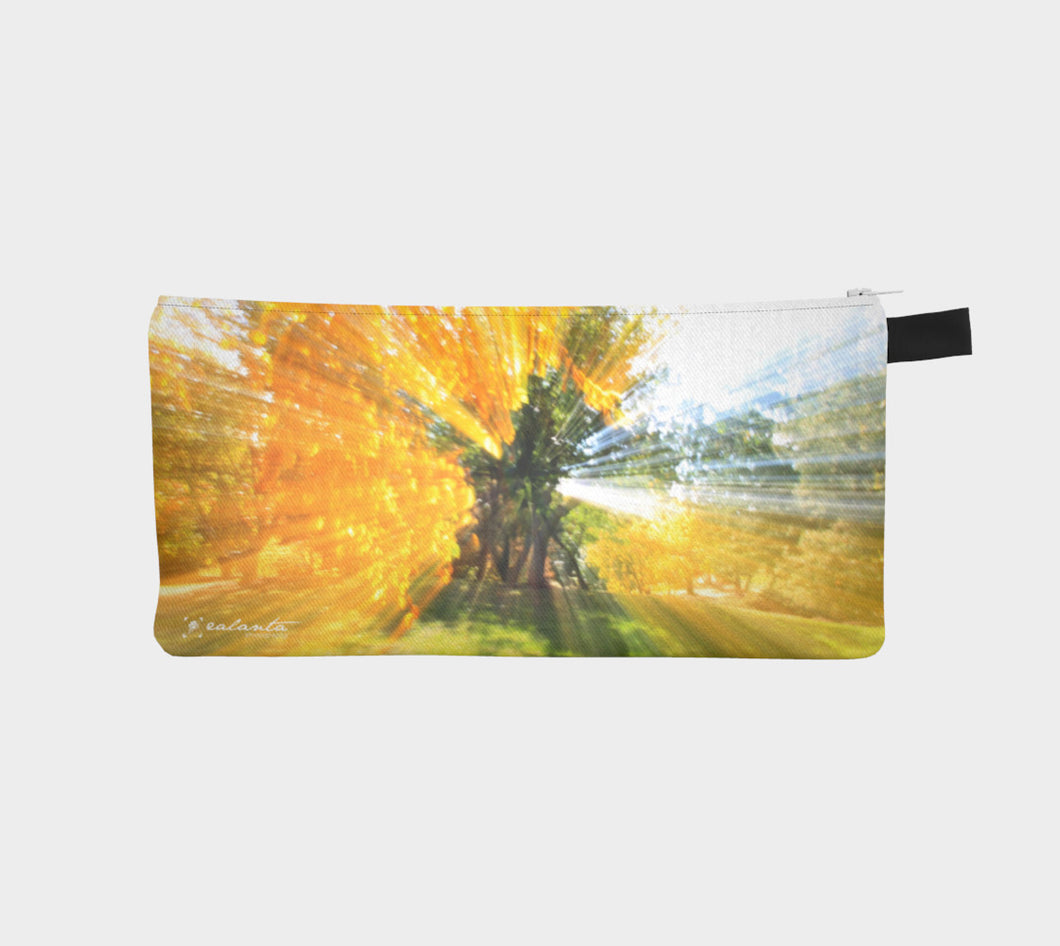 Trees of the Muttart Abstract case Pencil Case- ealanta Art Wear
