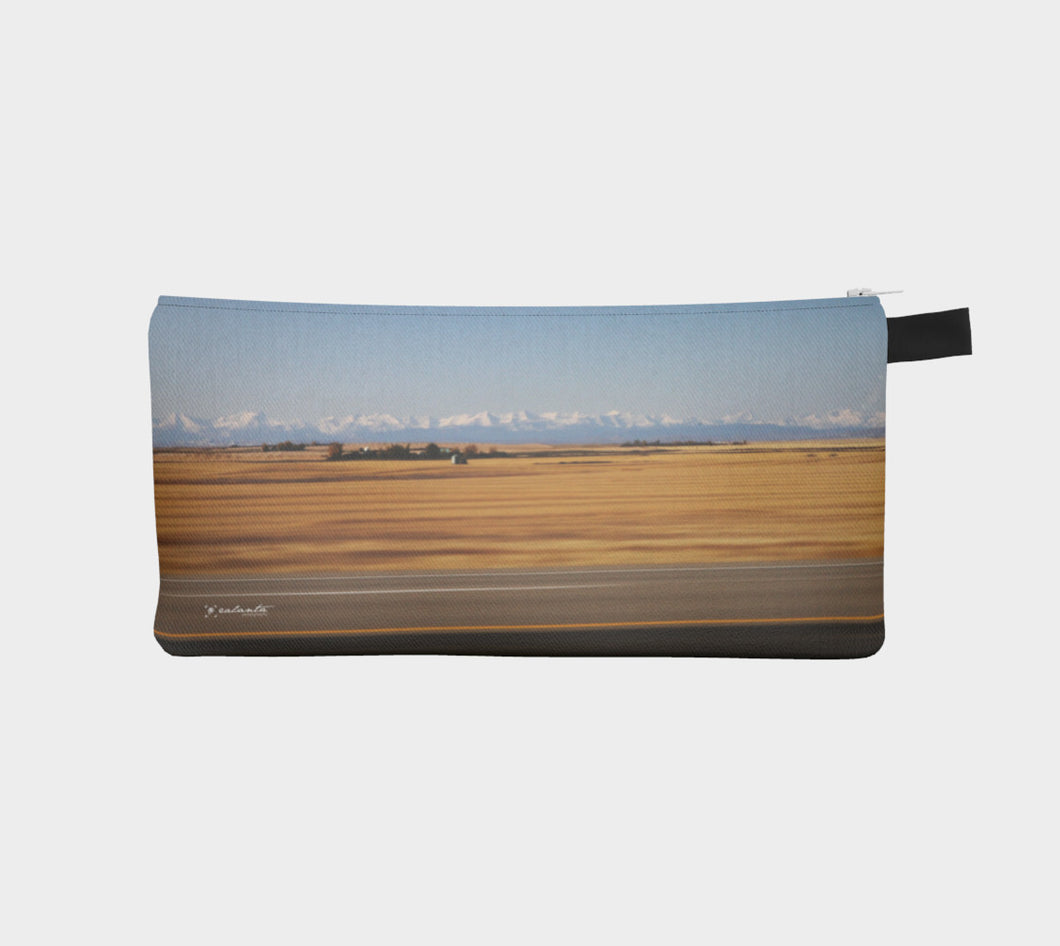 Alberta Road Trip case Pencil Case- ealanta Art Wear