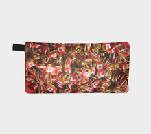 Canada Flag Pins case Pencil Case- ealanta Art Wear