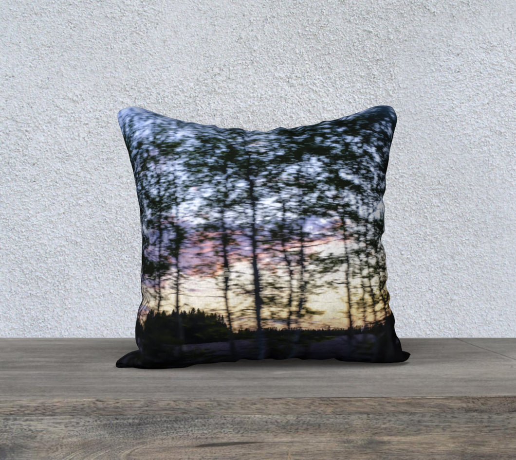 Alberta Tree Motion ealanta cushion cover 18x18 18