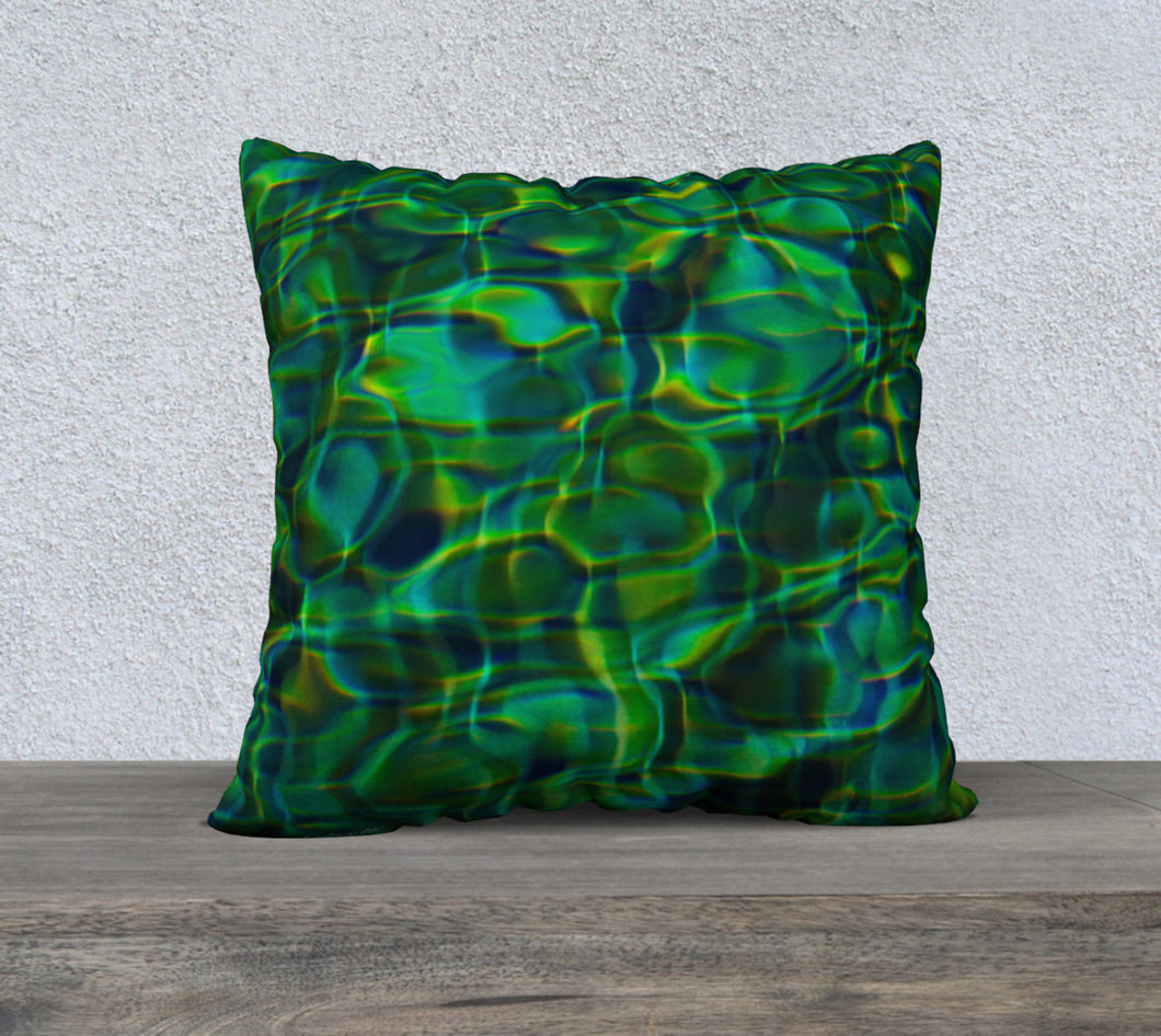 Tuscan Pool ealanta cushion cover 22x22 22