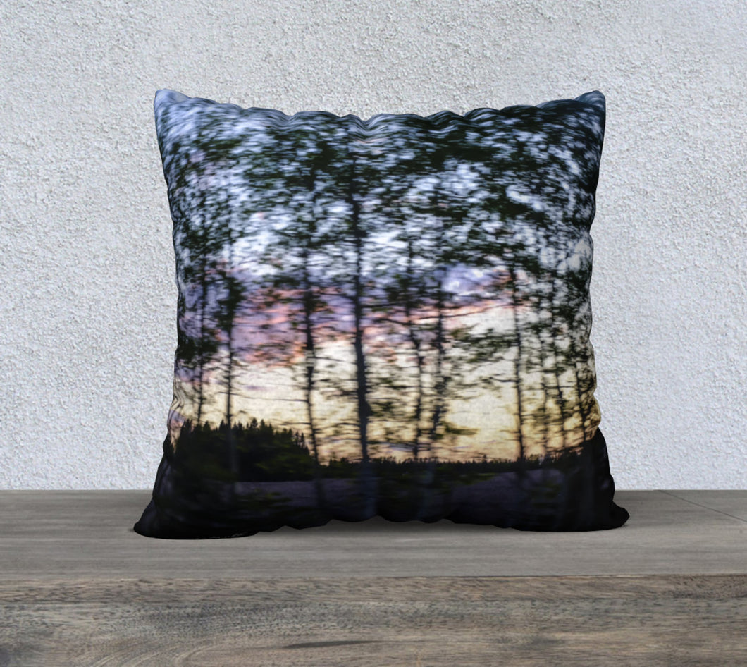 Alberta Tree Motion ealanta cushion cover 22x22 22