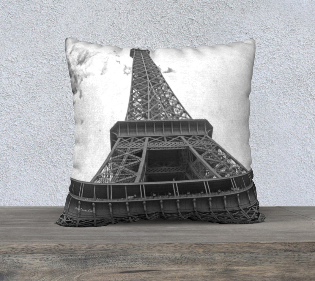 Eiffel Tower ealanta cushion cover 22x22 22