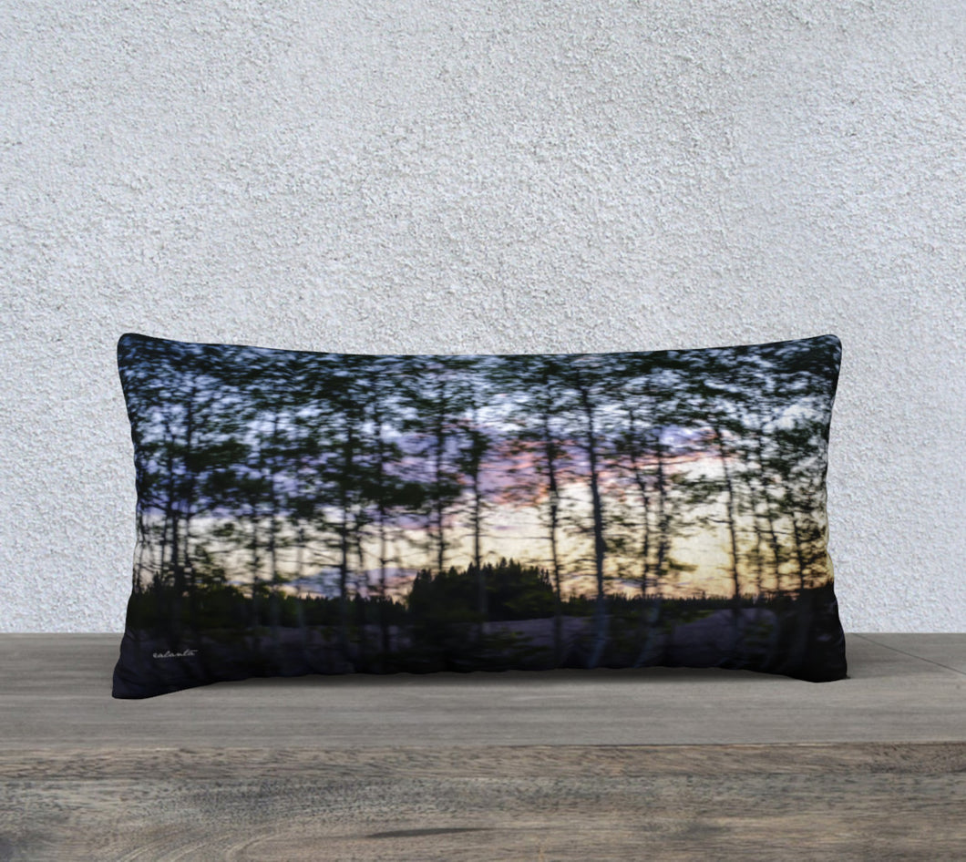 Alberta Tree Motion ealanta cushion cover 24x12 24