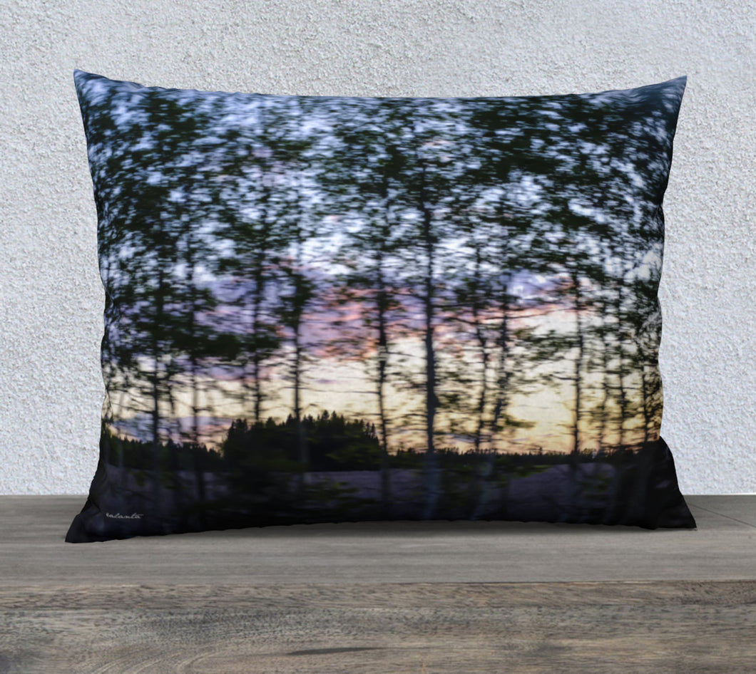 Alberta Tree Motion ealanta pillow cover 26x20 26