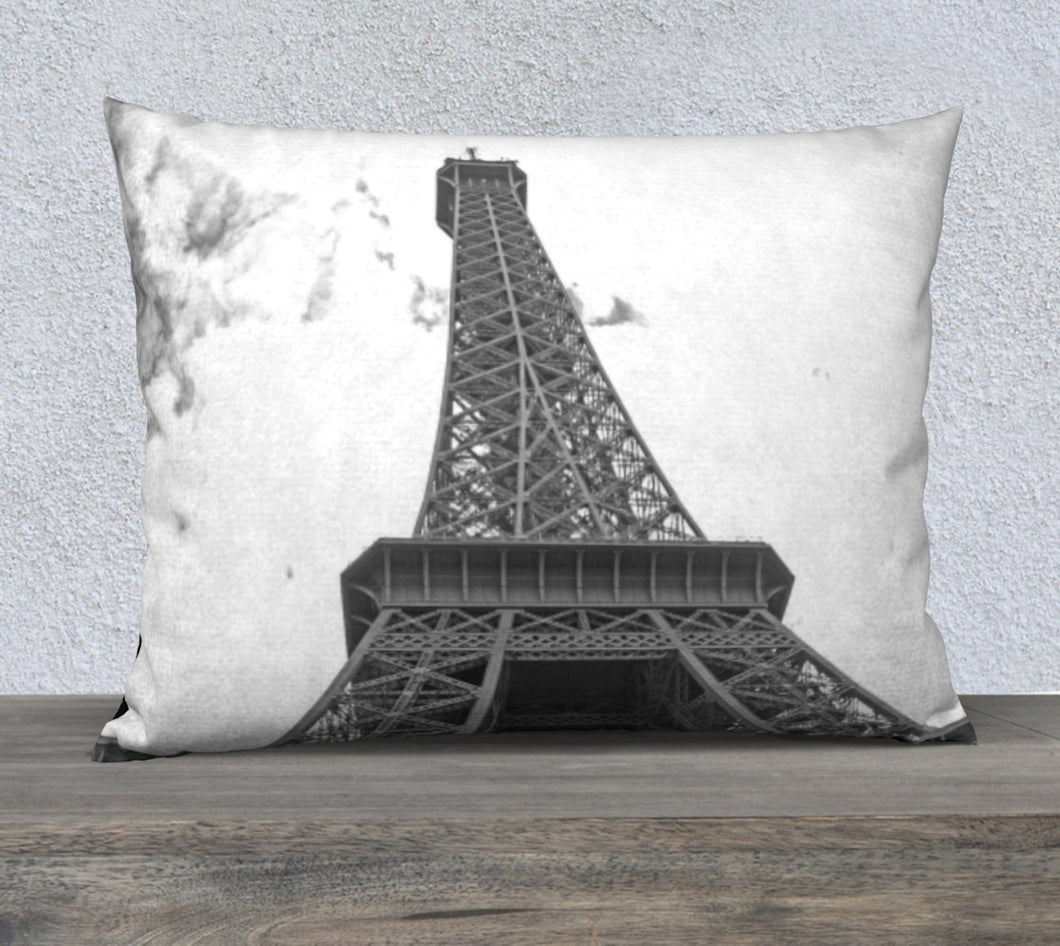 Eiffel Tower top pillow case 26x20 ealanta 26