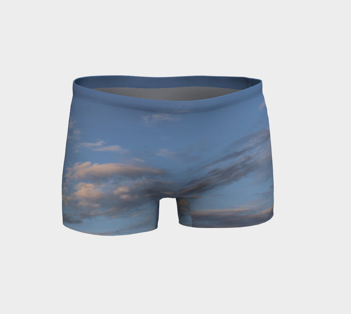 Beaumont Sky Shorts- ealanta Art Wear