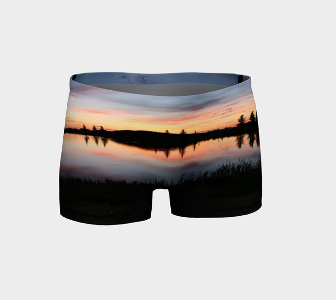 Beaumont Blues Sunset shorts Shorts- ealanta Art Wear