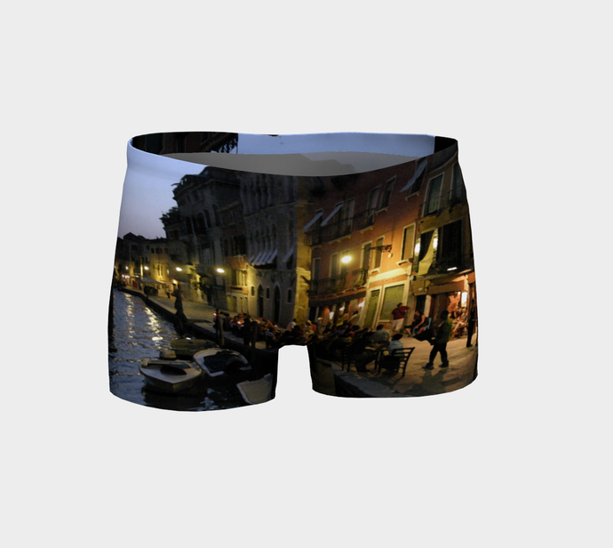 Venice Night Shorts Shorts- ealanta Art Wear