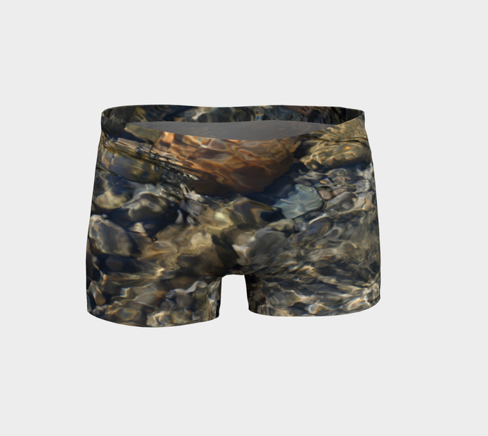 River Rock shorts Shorts- ealanta Art Wear