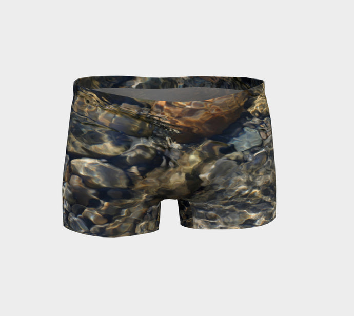 Crystal Clear shorts ealanta Shorts- ealanta Art Wear