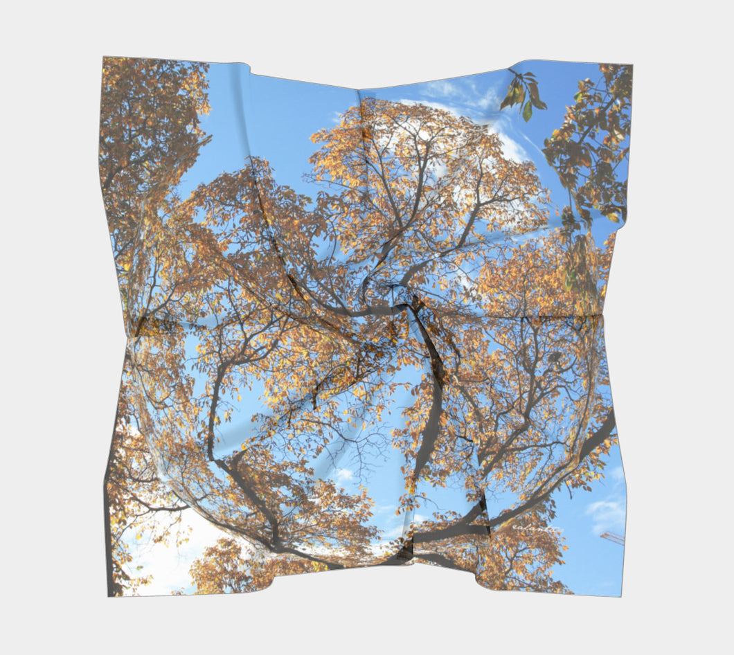 To the Sky ealanta Square Scarf- ealanta Art Wear