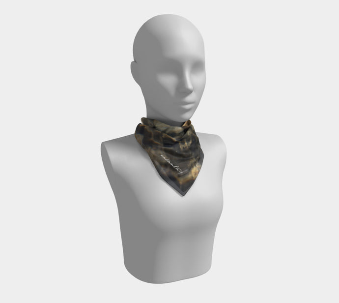 Sun Dance in the Stream ealanta Square Scarf- ealanta Art Wear