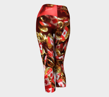 Canada 150 Yoga Style capri crop Leggings ealanta art wear Yoga Capris- ealanta Art Wear