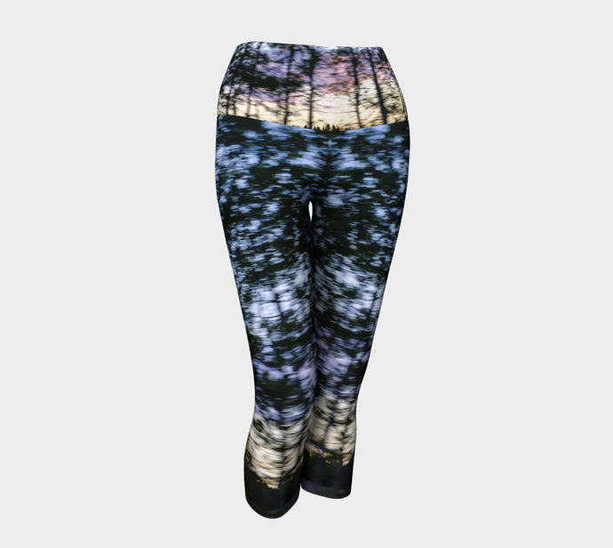 Alberta Tree Motion Yoga Capri Yoga Capris- ealanta Art Wear