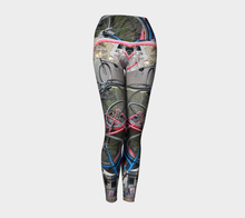 Bikes of Amsterdam yoga pants ealanta Art Wear Yoga Leggings- ealanta Art Wear