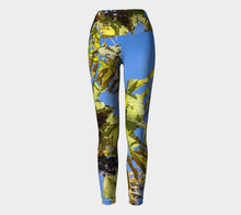 Wine on the Vine Tuscany Yoga ealanta art wear Yoga Leggings- ealanta Art Wear