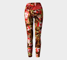 Canada 150 Yoga Style Leggings ealanta art wear Yoga Leggings- ealanta Art Wear