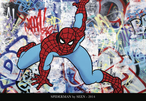 Spiderman by SEEN