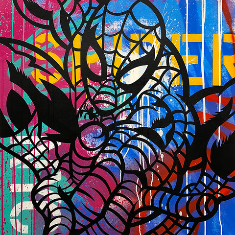 Original Painting 3904 * SPIDERMAN