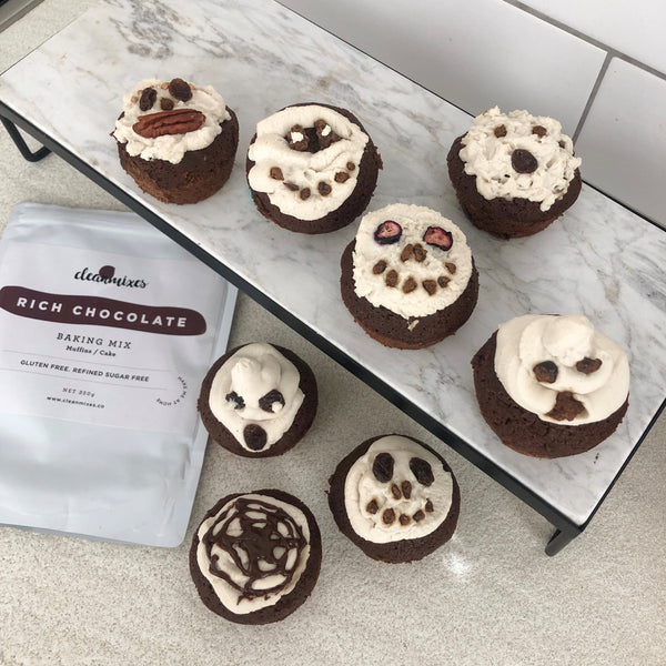Scary Halloween Muffins