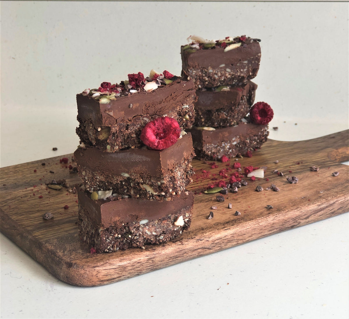 Cacao Crunch Slice