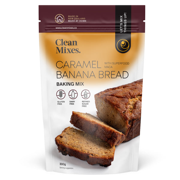 Caramel Banana Bread Baking Mix 300g