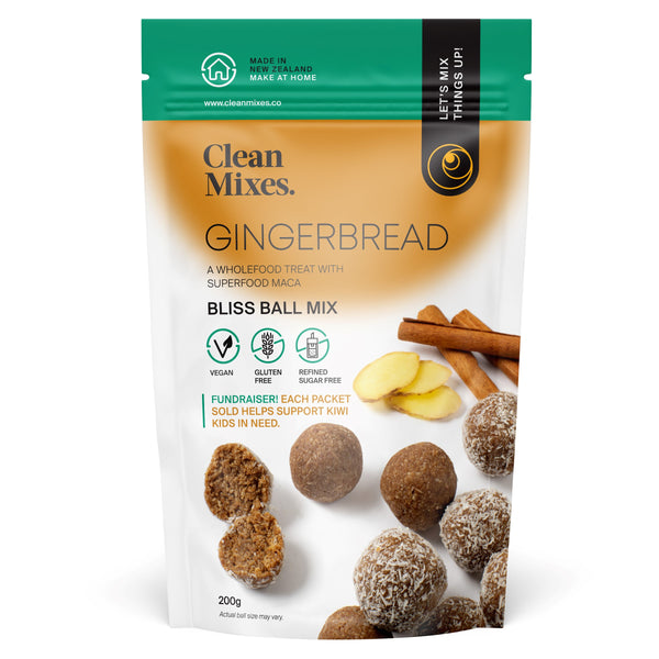 Gingerbread Bliss Ball Mix 200g - NEW PRODUCT!