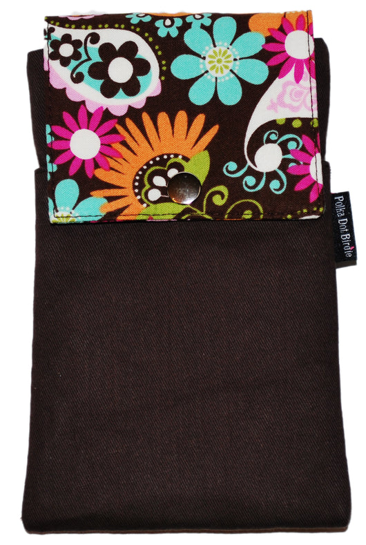 Paisley Multi Floral Brown Twill Essential Case