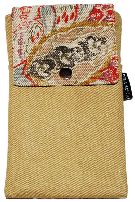 Linen Floral Twill Essential Case