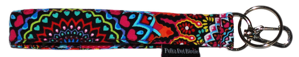 Tribal Key Wristlet